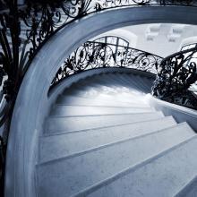 marble stair